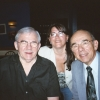 Ted, my daughter Anita and my cousin George Brown at Trumpets - Aug 2006