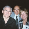 Ted, my cousin George Brown and his wife Ann at Trumpets Aug 2006